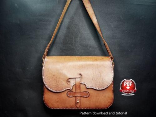 Выкройка сумки «Violin Bag» (DieselpunkRo)