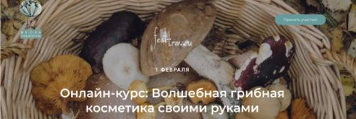 Волшебная грибная косметика своими руками (Татьяна Чуйкина)