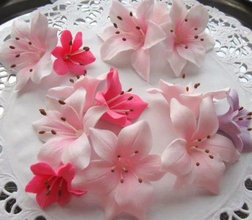 Видео урок. Сахарные цветы: Орхидеи и Лилии (Анна Галич)