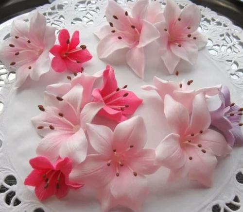 Видео урок. Сахарные цветы. Роза. (Анна Галич)