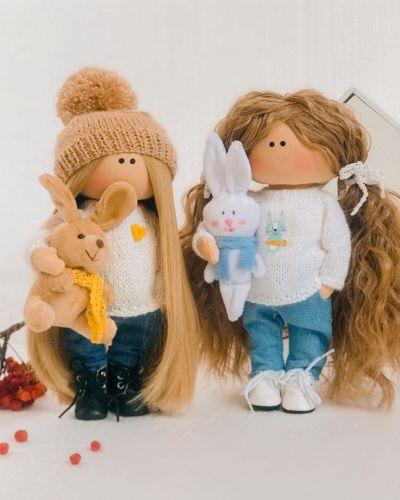 Видео МК Кукольные прически (Елена Золотарева)