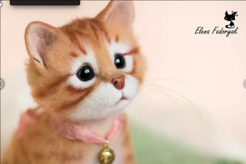 Видео-курс 'Валяние игрушек из шерсти' (Елена Федоряк)
