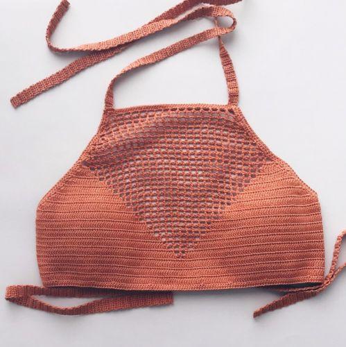 Вязаный топ (mary.knitting)