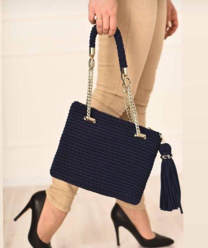 Вязаная сумка «Джессика» (dasha_bags)