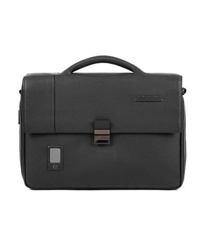 Портфель кожаный мужской Piquadro CA3111AO/N черный