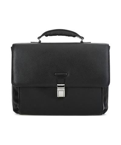 Портфель кожаный мужской Piquadro CA3111MO/N черный