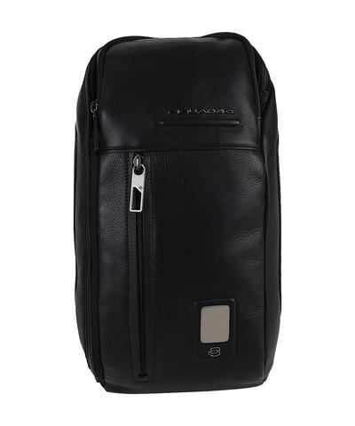 Рюкзак с одним плечевым ремнем Piquadro CA5107AO/N кожаный черный