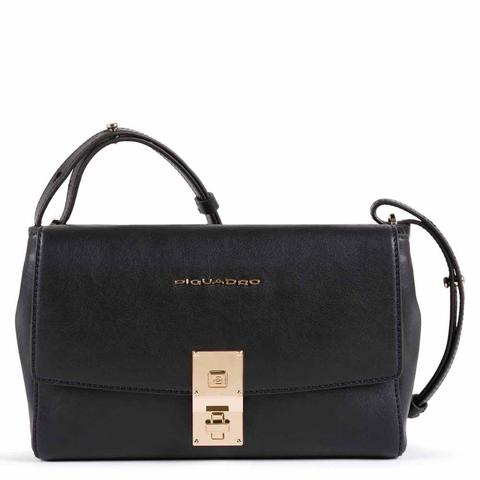 Женская сумка со съемным плечевым ремешком Piquadro CA5436DF/N черная