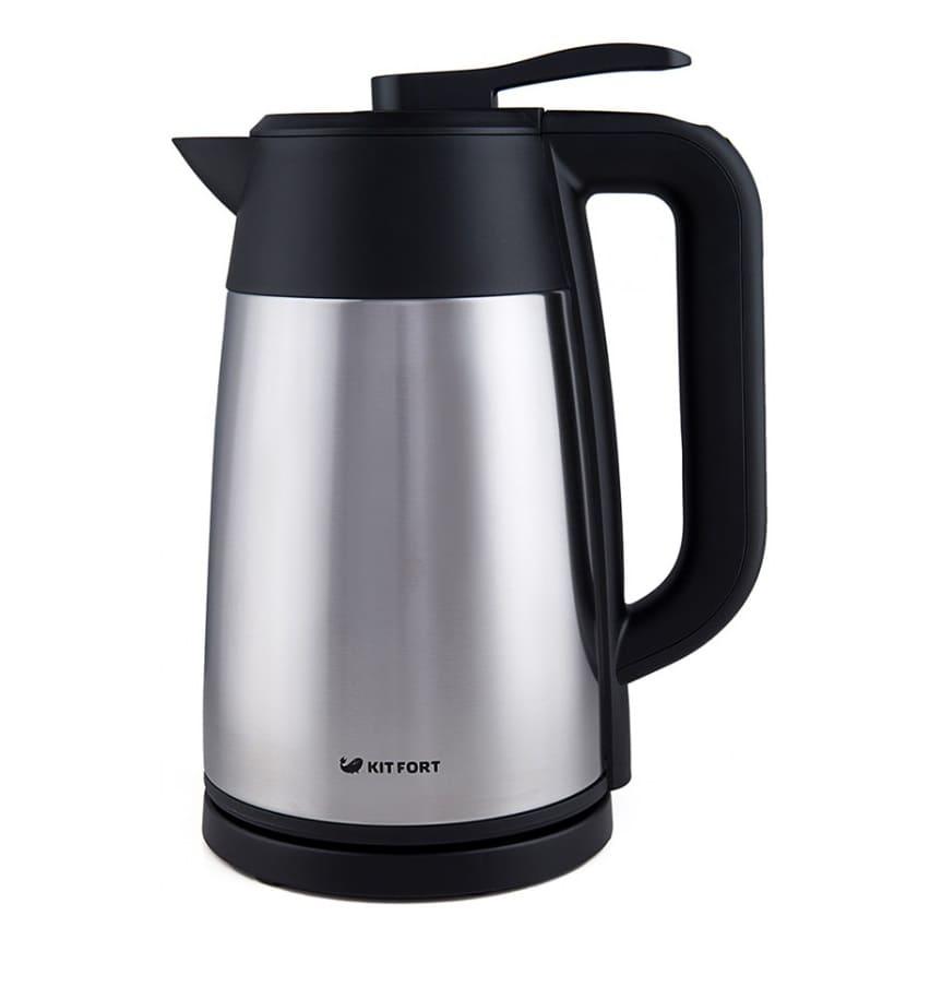 Чайник Vacuum Edition KT-620-2 серебристый металлик