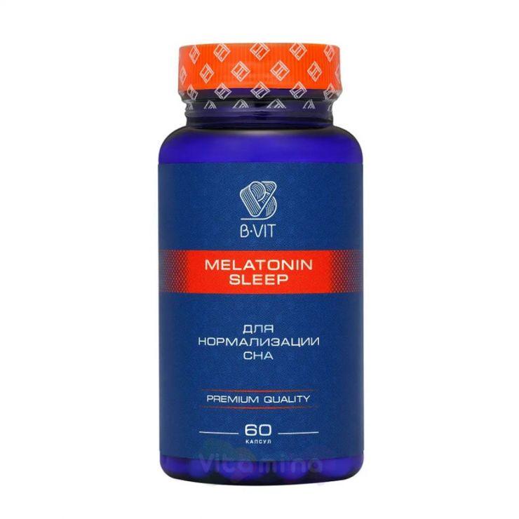 B-vit Мелатонин 1 мг, 60 капс.
