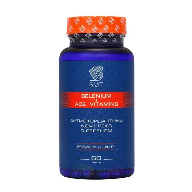 B-vit Селен + ACE витамины, 60 таб.
