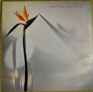 New Musik - From A To B  1981  LP (N.Mint / VG)
