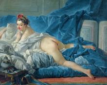 Одалиска ( Репродукция Франсуа Буше)