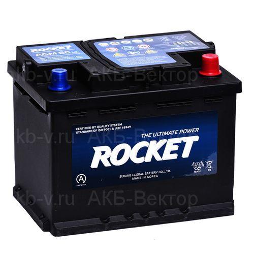 Rocket AGM 60Aч 640А(EN)
