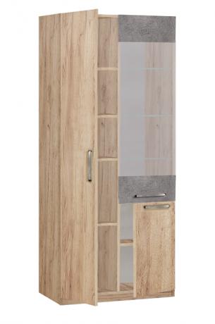 19.061 Шкаф-витрина Лофт