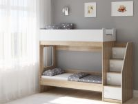 Кровать двухъярусная Легенда D602.3, два цвета