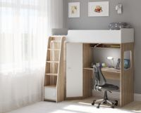 Кровать-чердак Легенда B603.1, два варианта цвета