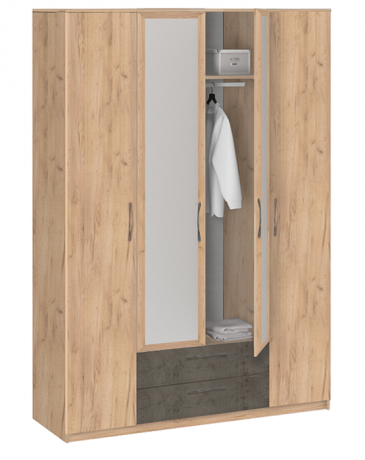 19.041Z Шкаф для одежды с зеркалом Лофт