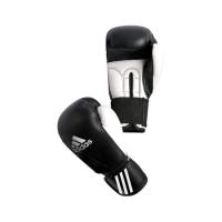 Перчатки боксерские adidas Performer чёрно-белые 8 унц. артикул adibc01