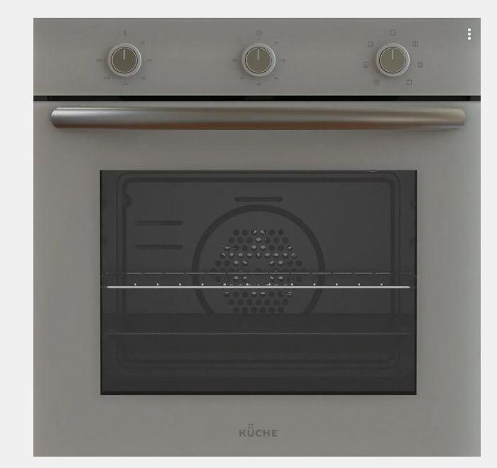 Встраиваемый электрический духовой шкаф KUCHE AGM 167 G Серый