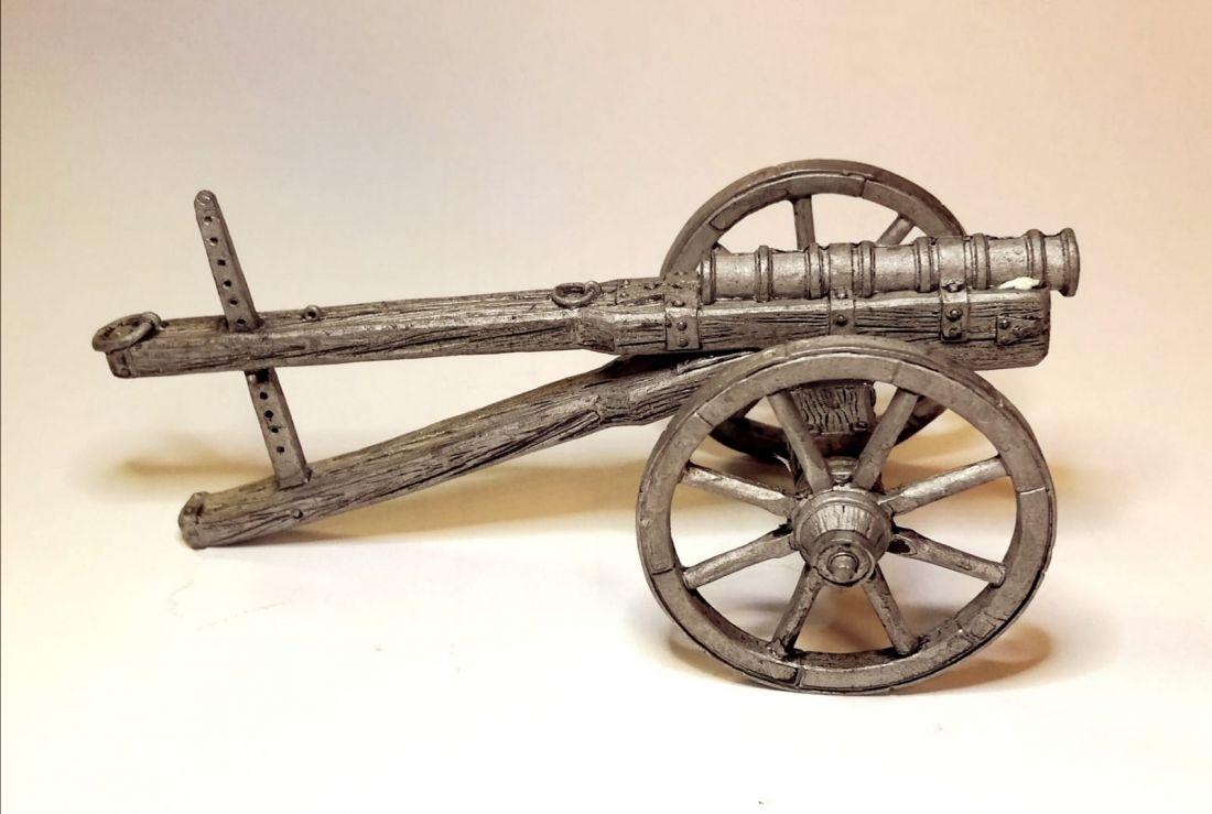 Модель Кулеврина, 2-пол. 15 века Олово