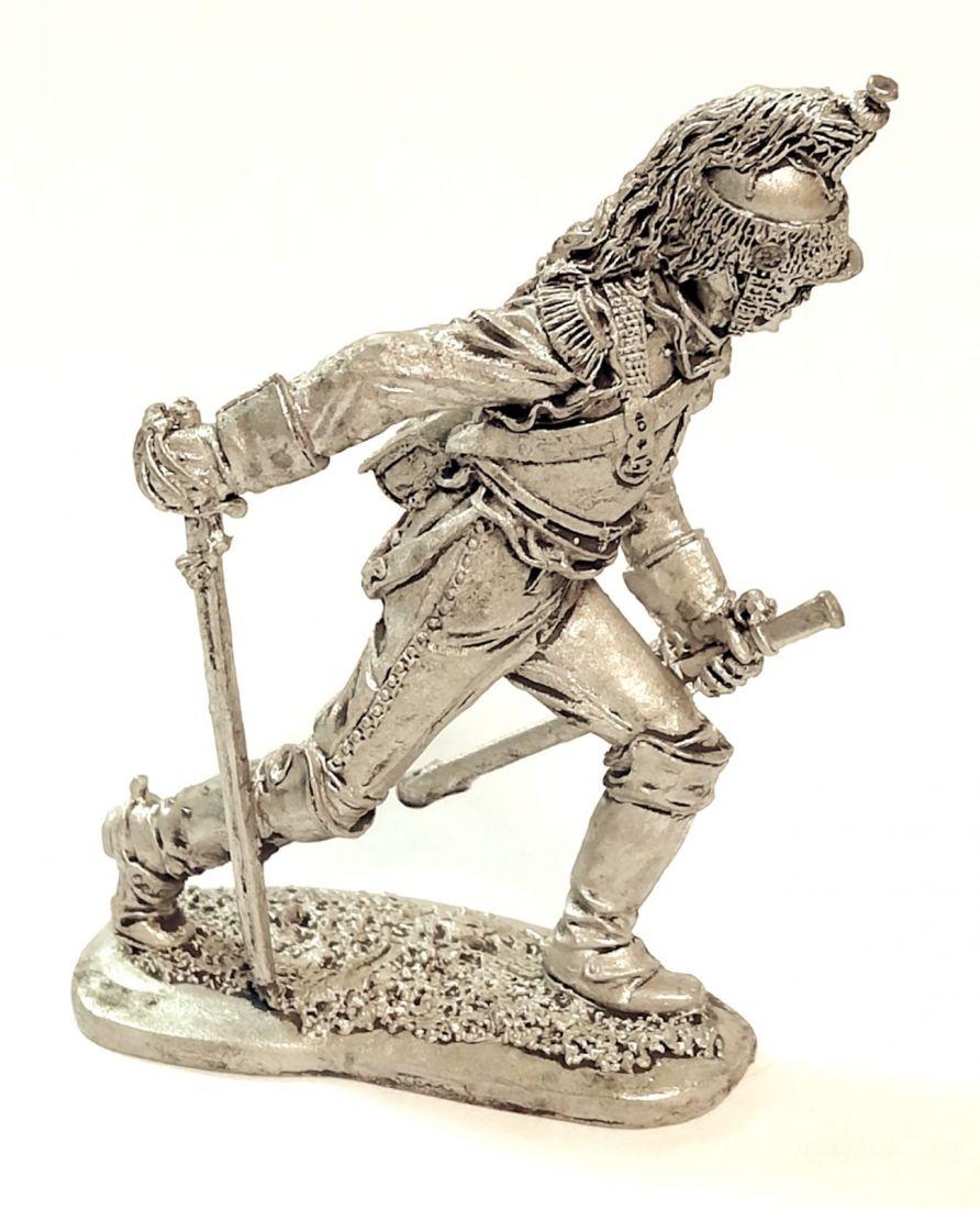 Фигурка Рядовой кирасирского полка. Франция, 1809-15 гг. олово