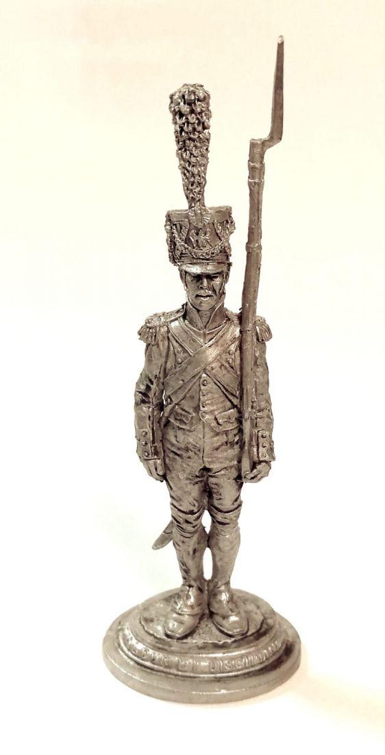 Фигурка Фузелёр-гренадер Имп. Гвардии. Франция, 1806-14 гг. олово