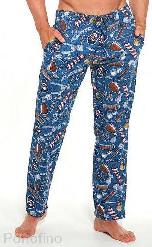 691-33 Брюки пижамные мужские Cornette