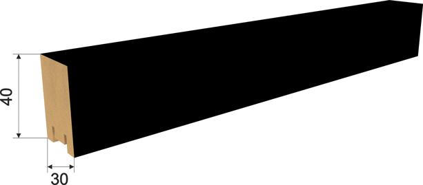 Рейка 40х30х2700