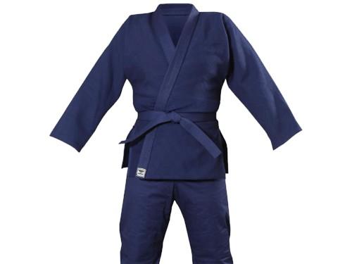 Кимоно для занятий дзюдо SPRINTER. Цвет синий. Рост 140 см.