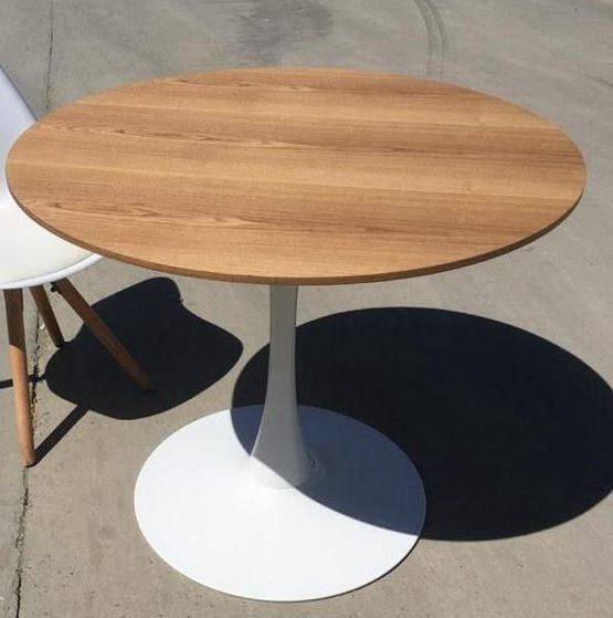 Стол обеденный SQT-1 (под дерево)