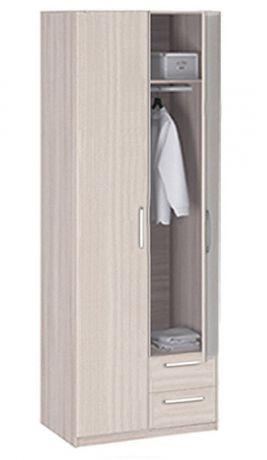 8.022Z Шкаф 2-х дверный с ящиками с зеркалом Лотос