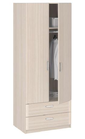 8.023 Шкаф 2-х дверный с ящиками Лотос