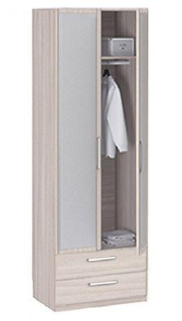 8.024Z Шкаф 2-х дверный с ящиками с зеркалом Лотос