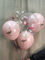 """Набор гелиевых шаров """"Розовый фламинго"""""""