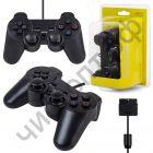 Джойстик для PS2 Dual Shock блистер черн