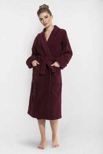 Женский махровый халат Red Queen