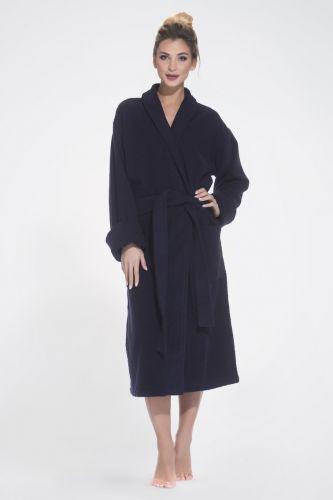 Женский махровый халат Deep Blue