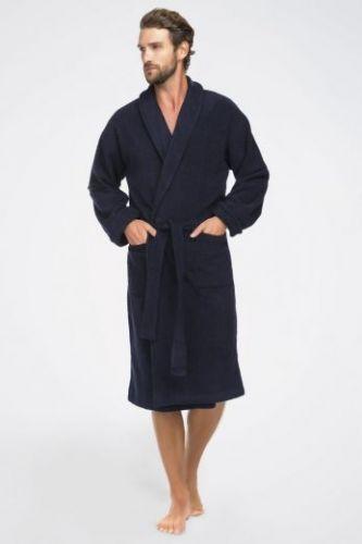 Мужской махровый халат Deep Blue
