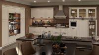 Кухня Порто Крем со встроенным шкафом