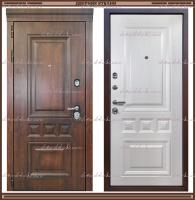 Входная дверь Классика Golden oak / Шелк жемчужный 95 мм Россия