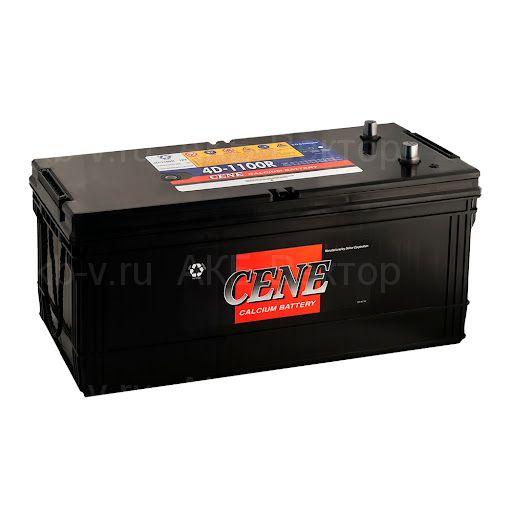 Аккумулятор Cene  200Ач 1100А (4D-1100R / 4D1100) грузовой