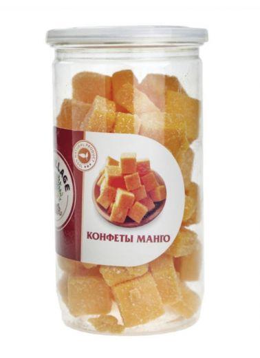 Кубики манго в банке конфетка 500гр