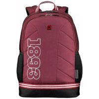 "Рюкзак Wenger Collegiate Quadma 16"", красный, 33х17х43 см, 22 л, (611668)"