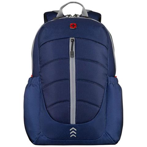 "Рюкзак Wenger Engyz 16"", синий, 33х20х46 см, 21 л, (611680)"