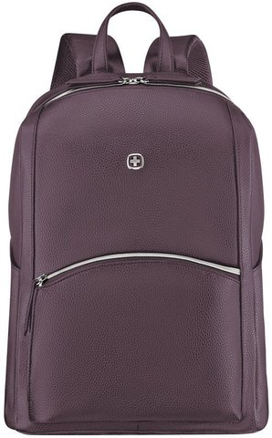Рюкзак женский Wenger LeaMarie, сливовый, 31x16x41 см, 18 л, (611221)