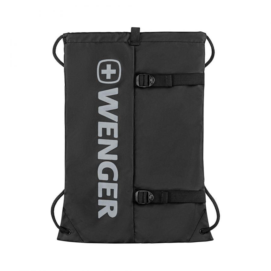 Рюкзак-мешок Wenger XC Fyrst, черный, 35x1x48 см, 12 л, (610167)