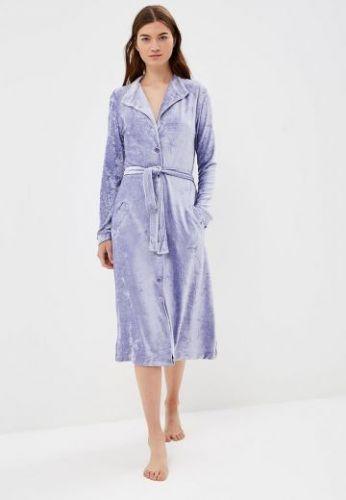 Женский велюровый халат De Soie