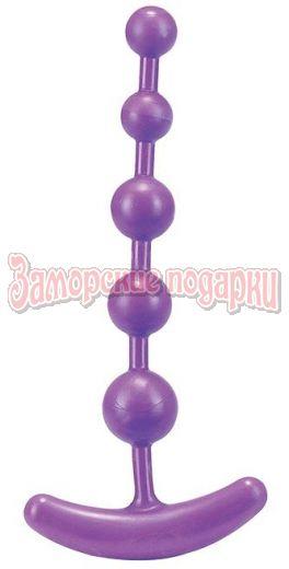 Анальная цепочка PURE ANAL BEADS - 15,2 см.