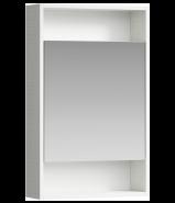 Зеркальный шкаф Aqwella 50см. City